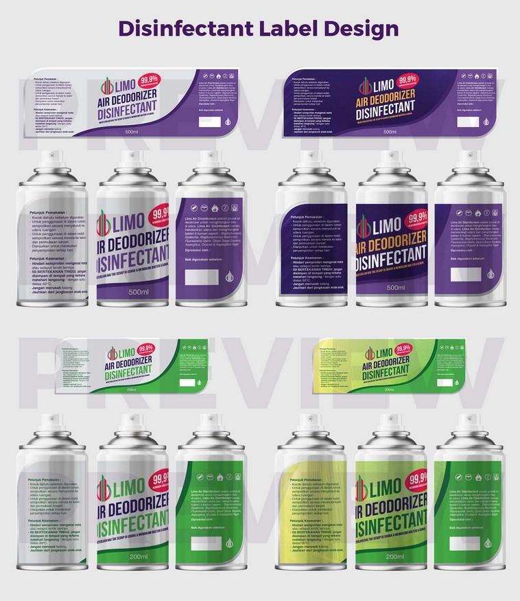 Jasa maklon desinfectant kemasan spray dan aerosol
